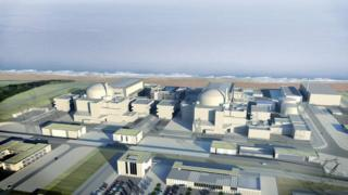 Handout image of Hinkley Point C