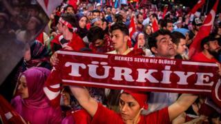 сторонники эрдогана, 20 июля