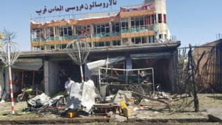 Kabul após ataque