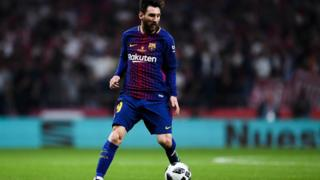 Messi don become di secon player to score for five Copa del Rey final