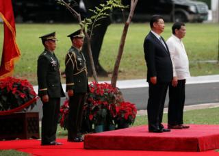 習近平訪問菲律賓