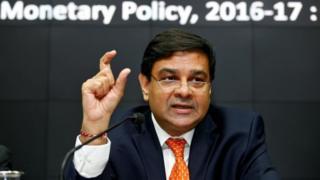 Reserve Bank of India governor Urjit Patel