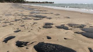 Praia de Tabatinga, Município de Nísia Floresta, litoral oriental do RN