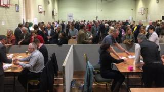 Council count in Pembrokeshire