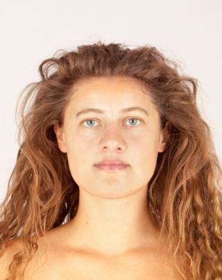 Facial reconstruction of Bronze Age woman Ava