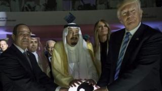 دونالد ترامب في السعودية