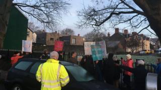 protest coed