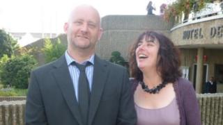 Jim Hill and Sally Shalloe