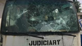 Judiciary bus