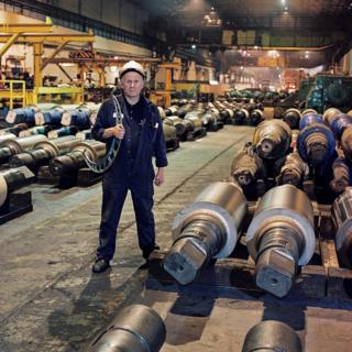 Philip Lawton, Fitter / Roll grinder, 34 years at the Works