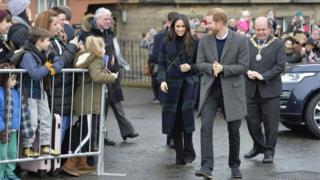 Меган и Гарри приветствовал лорд-мэр Эдинбурга
