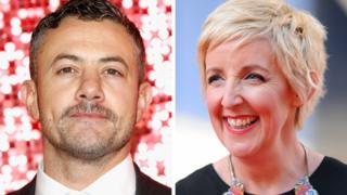 Warren Brown and Julie Hesmondhalgh