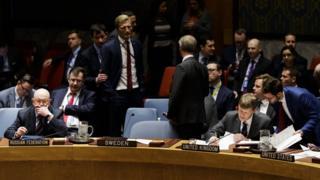 جلسه فوری شورای امنیت