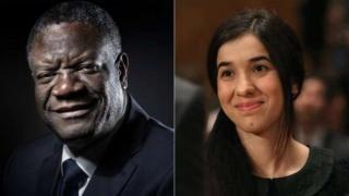 Denis Mukwege et Nadia Murad Prix Nobel de la Paix