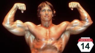 Arnold Schwarzenegger in the 1980s
