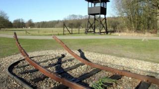 سكة حديدية قديمة