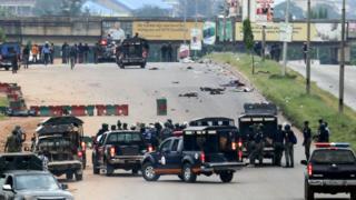 Nigerian army clash wit shiites