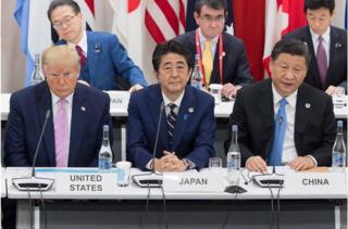 """大阪二十国集团(G20)峰会上的""""习特会""""全球瞩目"""