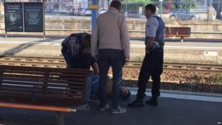 Suspect held by police at Arras (21 August)