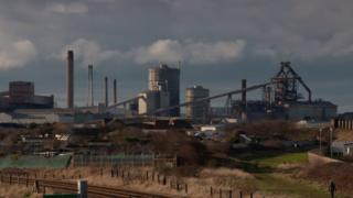 Redcar steel works