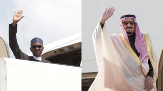 Aarẹ Buhari ati Ọba Saudi