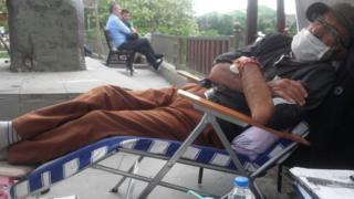 Kemal Gün dinleniyor
