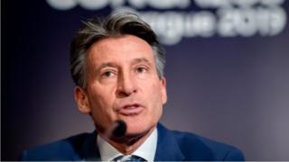 L'Anglais Sebastian Coe dirige l'IAAF depuis 2015.