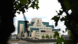 MI6 headquarters in London