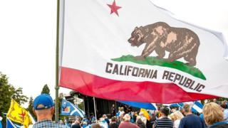 Под флагом Калифорнийской республики