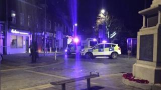 Police at Herbert Street