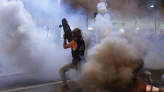 in_pictures Protests in Phoenix, Arizona