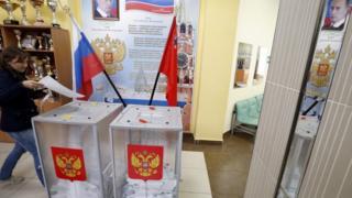 Electoras en Moscú