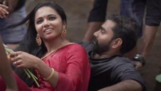 Mariage indien, shooting photo de star