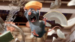 """This photo provided by Disney shows Remy (voiced by Patton Oswalt) in """"Ratatouille"""
