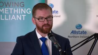 The minister also announced he had asked his officials to examine Northern Ireland's competitiveness against a number of other countries