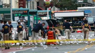 Manhattan'daki Chelsea semtinde yaşanan saldırıda 29 kişi yaralandı.