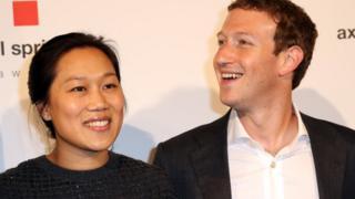 Mark Zuckerberg da iyalinsa Priscilla Chan