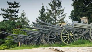 World War 1 canons