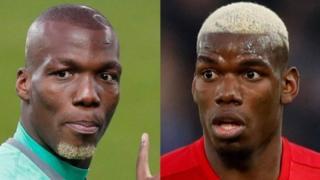 Ndugu wawili Florentin Pogba na Paul Pogba