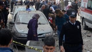 Diyarbakır patlama sonrası