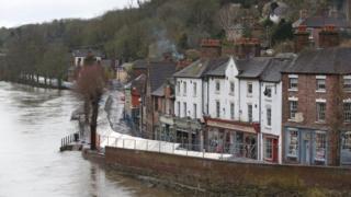 environment Ironbridge flood defences