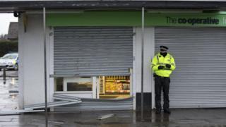 ATM raid in Perth