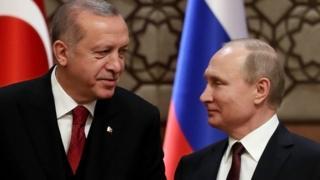 Erdoğan ile Putin, Pazartesi günü Rusya'nın Soçi şehrinde başa baş görüşecek.