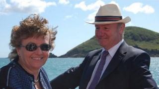 Lynda and Peter Walker