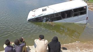 Les accidents de la circulation sont courants en Egypte.