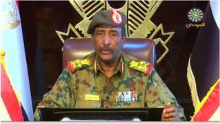 Le général Abdel Fattah Abdelrahman Burhan a adopté un ton plus conciliant en s'adressant au peuple soudanais, sur la télévision d'Etat.