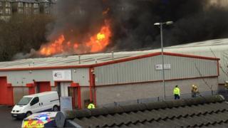 Port Glasgow fire