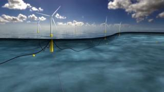 World's first floating wind farm emerges off coast of Scotland