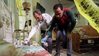मिस्र में धमाके