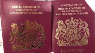 برطانوی پاسپورٹ